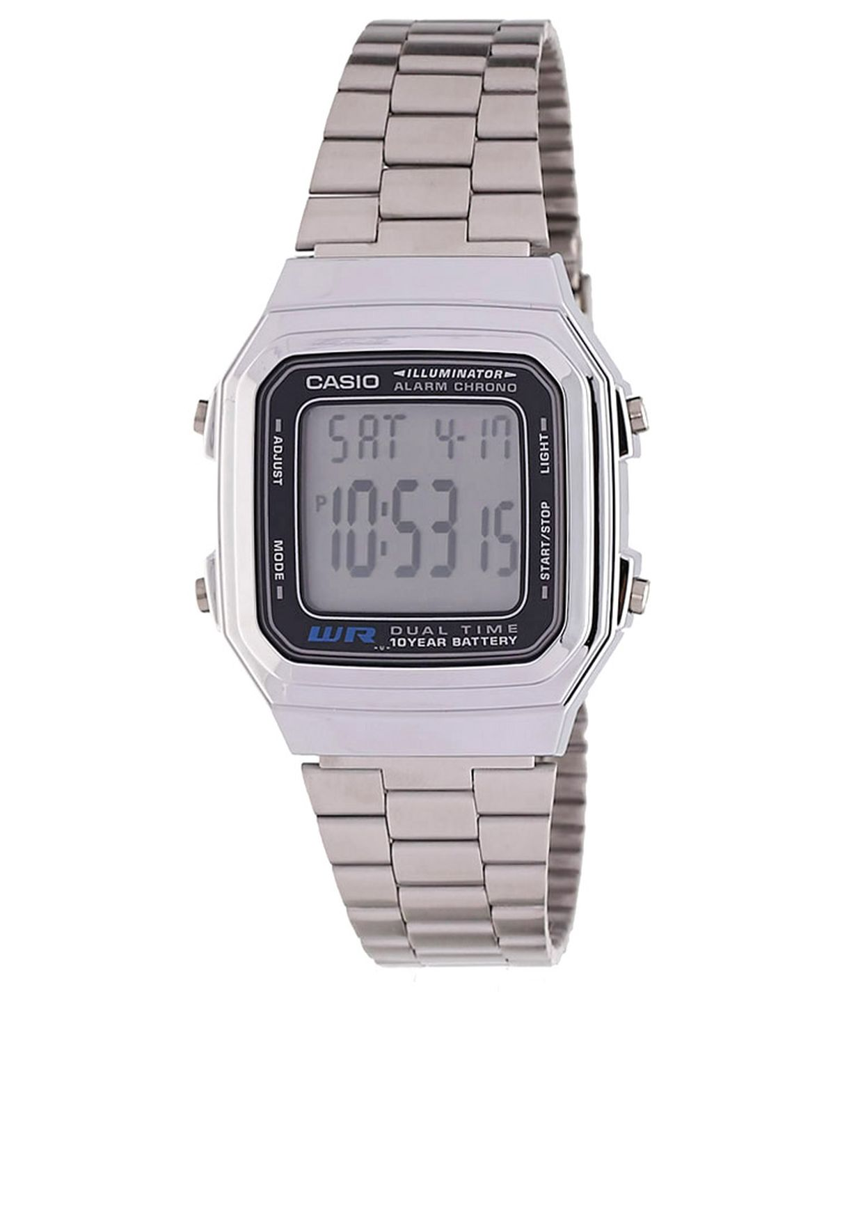 ساعة يد رقمية