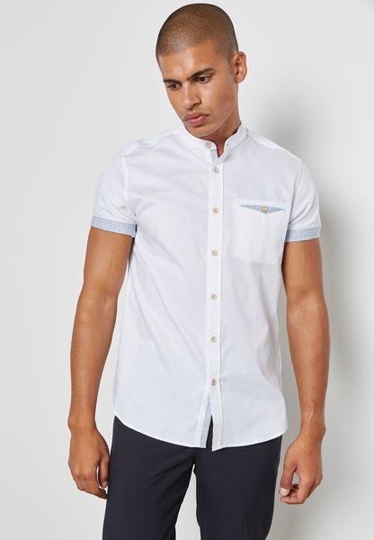 Grandad Collar Shirt.