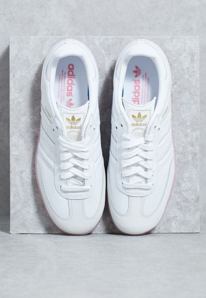 best sneakers 1c6a9 c9708 Shop Adidas originals white Samba W BY9240 for Women in UAE 85%OFF ...
