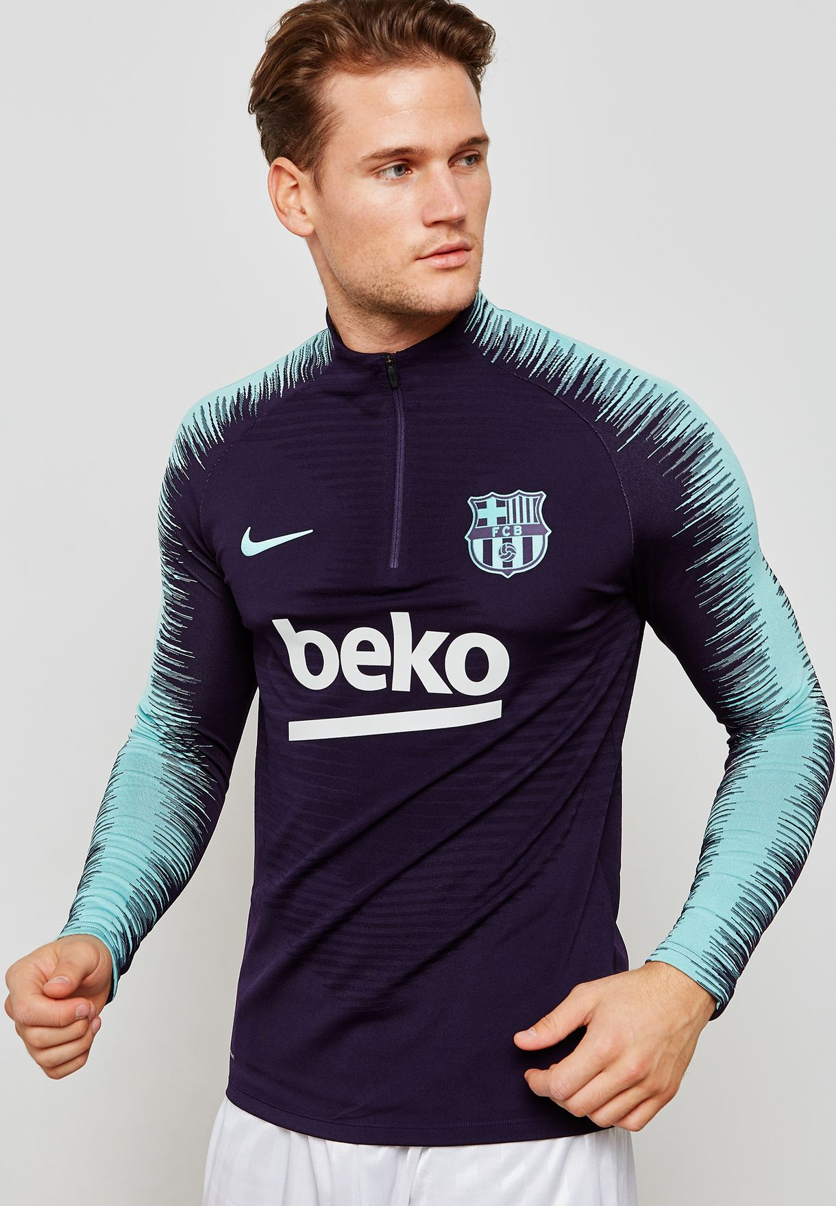 Ser amado Aviación Pence  Buy Nike purple FC Barcelona Aeroswift Dril Top for Men in MENA, Worldwide  | 894188-525
