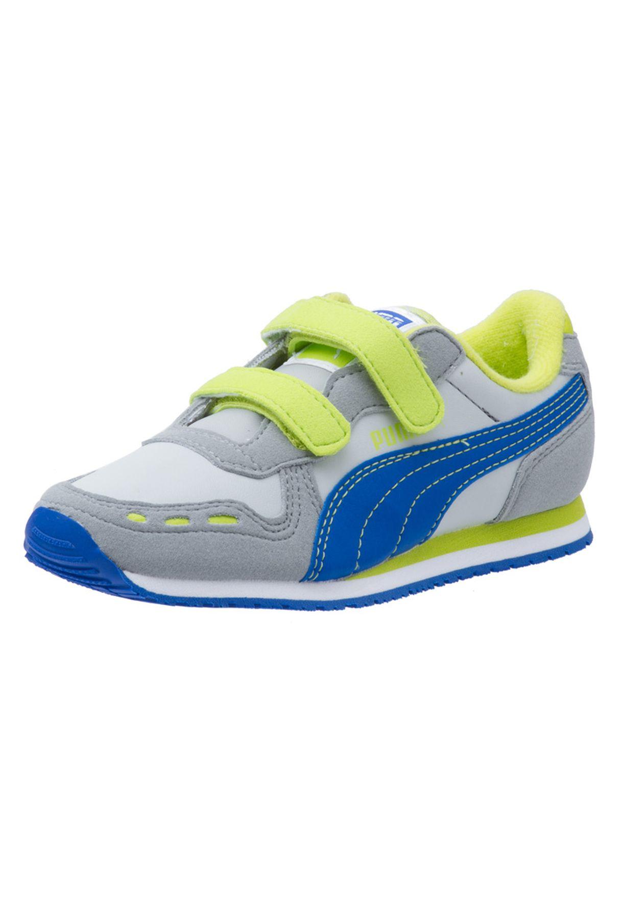 55a39ae6b4 Shop PUMA multicolor Cabana Racer Sl V 35198008 for Kids in Globally ...