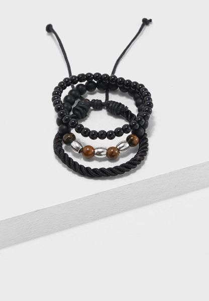 3 Pack Beaded Bracelets