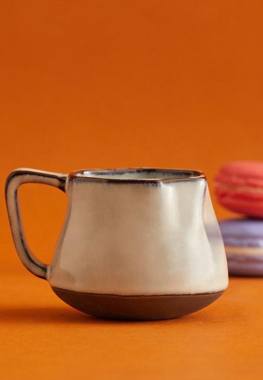 Small Crinkle Snow Mug