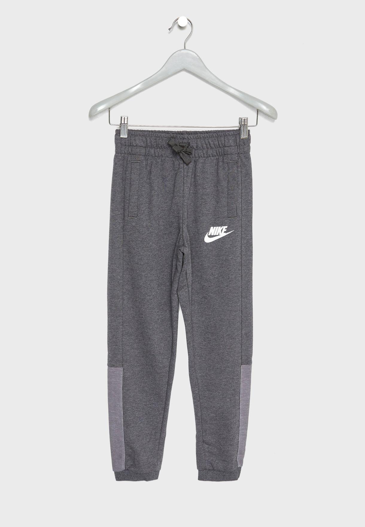 f471cdd97e52 Shop Nike grey Youth NSW Advance Sweatpants AJ0120-071 for Kids in UAE -  NI727AT22LWV