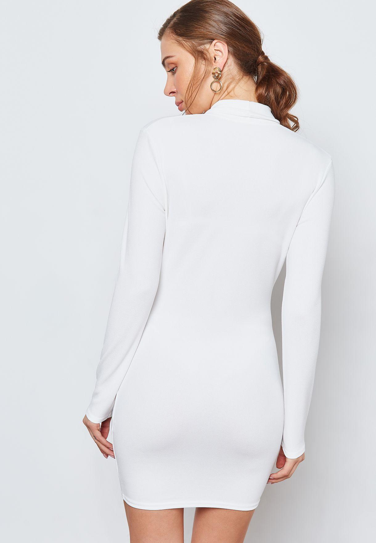 فستان بنمط جاكيت