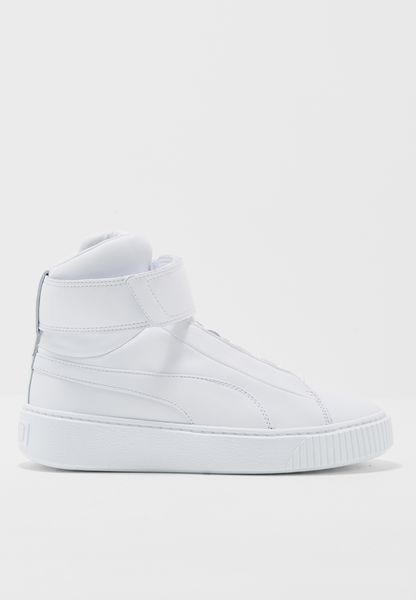 حذاء بلاتفورم ميد