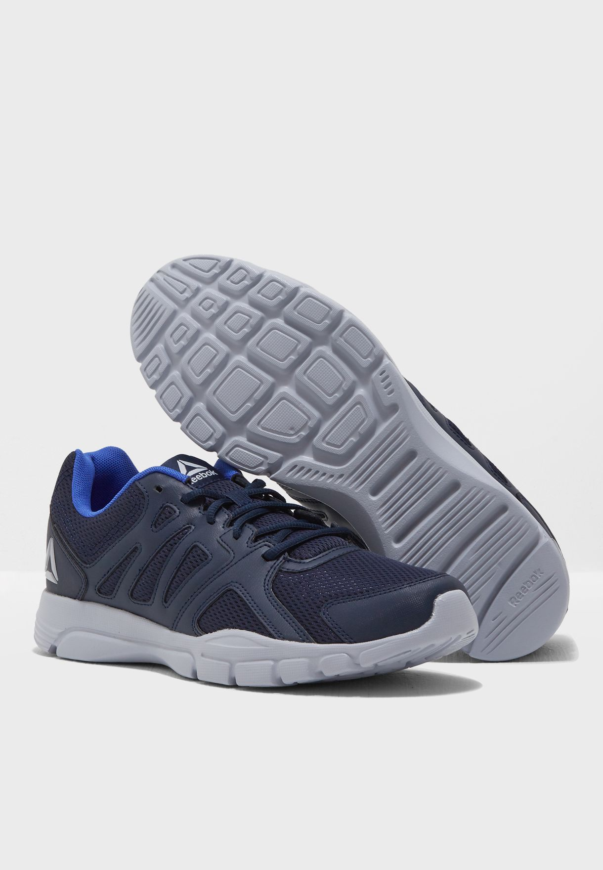 d37d2a9271a3f1 Shop Reebok navy Trainfusion Nine 3.0 CN0973 for Men in UAE ...