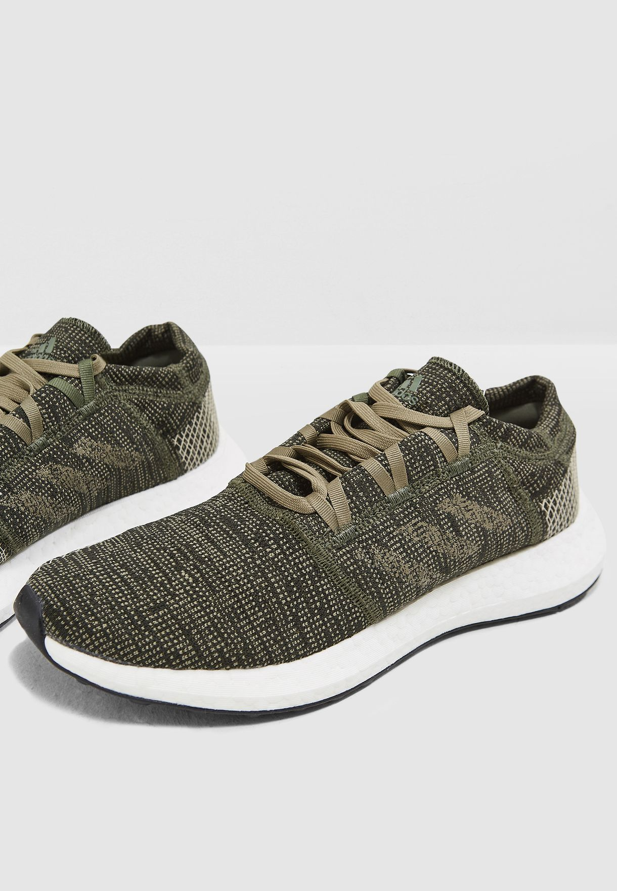 58cb58a283a4d Shop adidas green Pureboost Element AH2325 for Men in Saudi - AD476SH22PPX