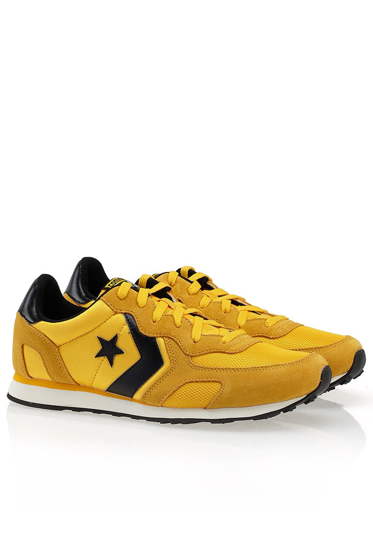 a01d42170105 Shop Converse yellow Auckland Racer Sneakers for Men in UAE ...
