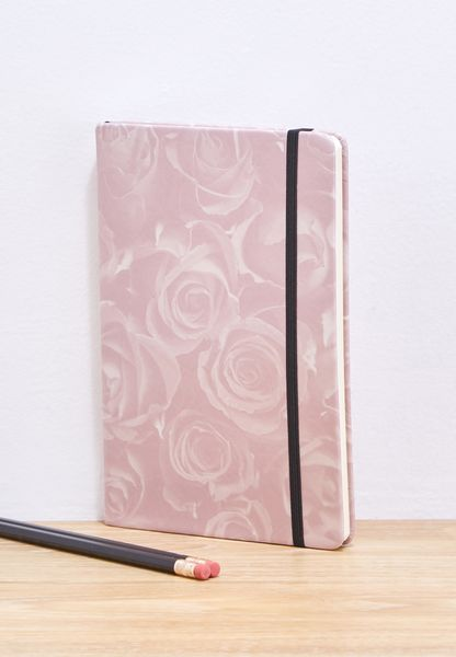 A5 Roses Notebook