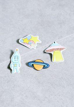 Multipack Space Brooch