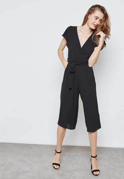 Wrapped Culotte Jumpsuit