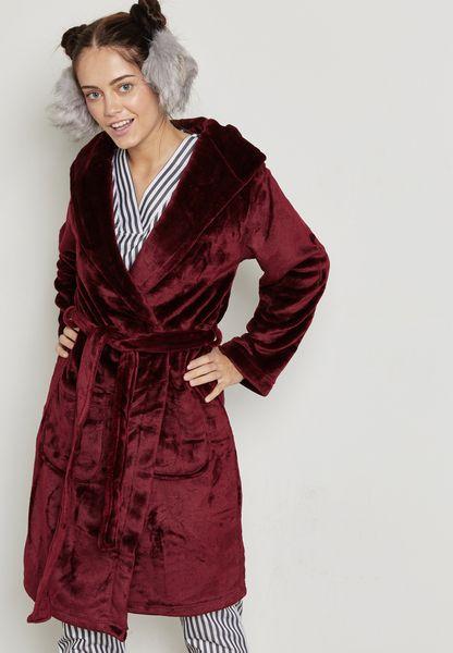 Fleece Shimmer Robe