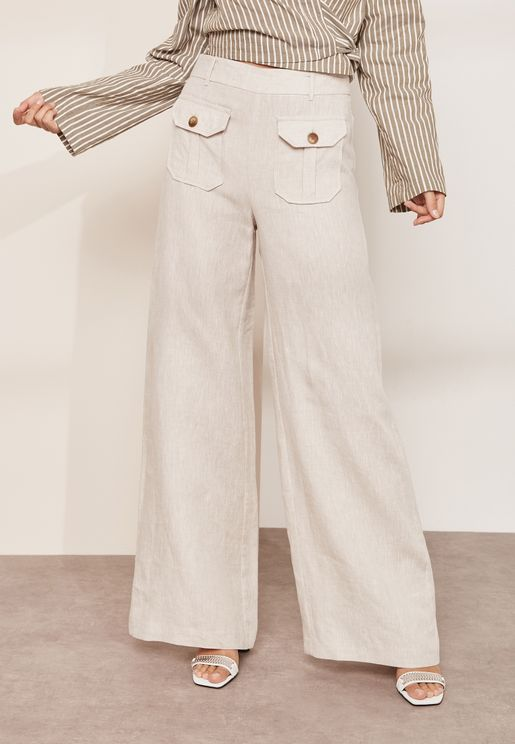 Bon Voyage Front Pocket Wide Leg Pants