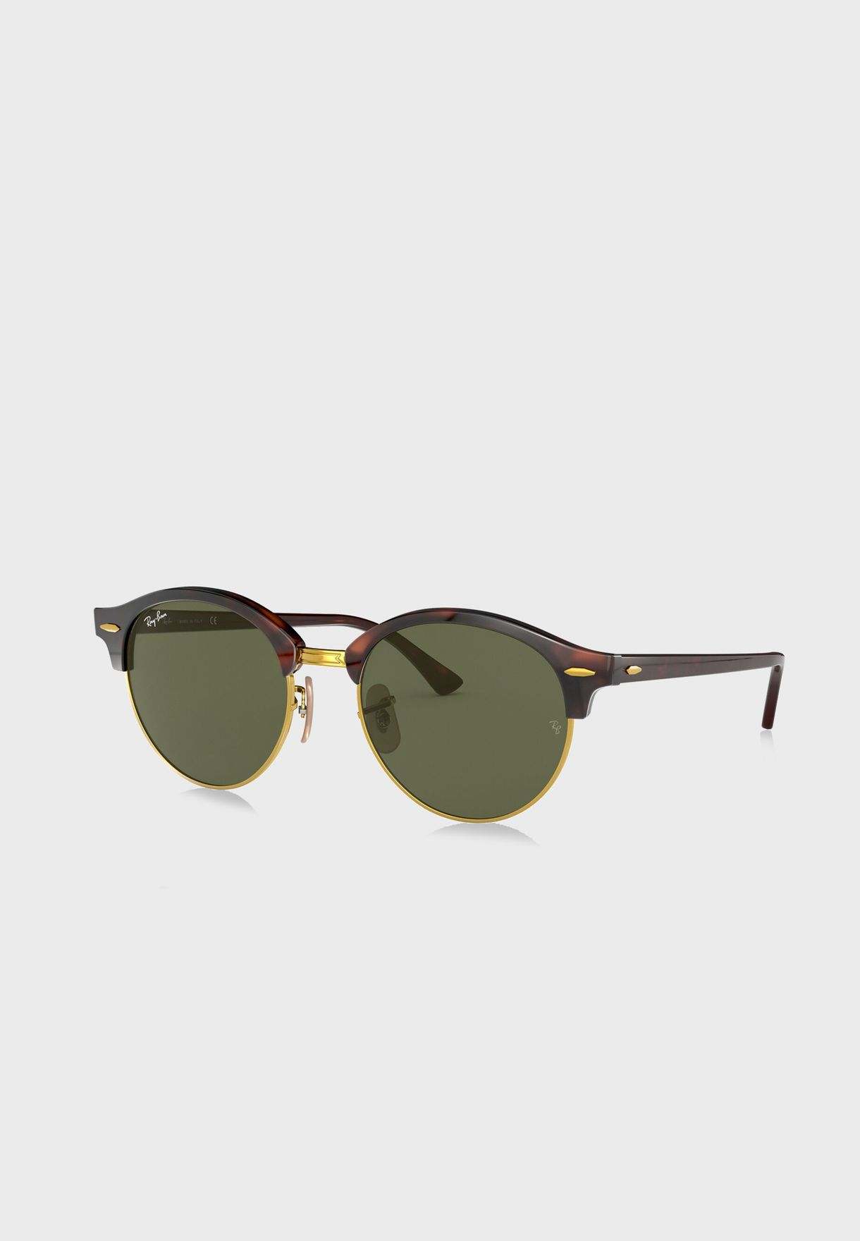 5f86d964ae7 Shop Ray-Ban red 0RB4246 Icons Clubmasters 8053672559699 for ...
