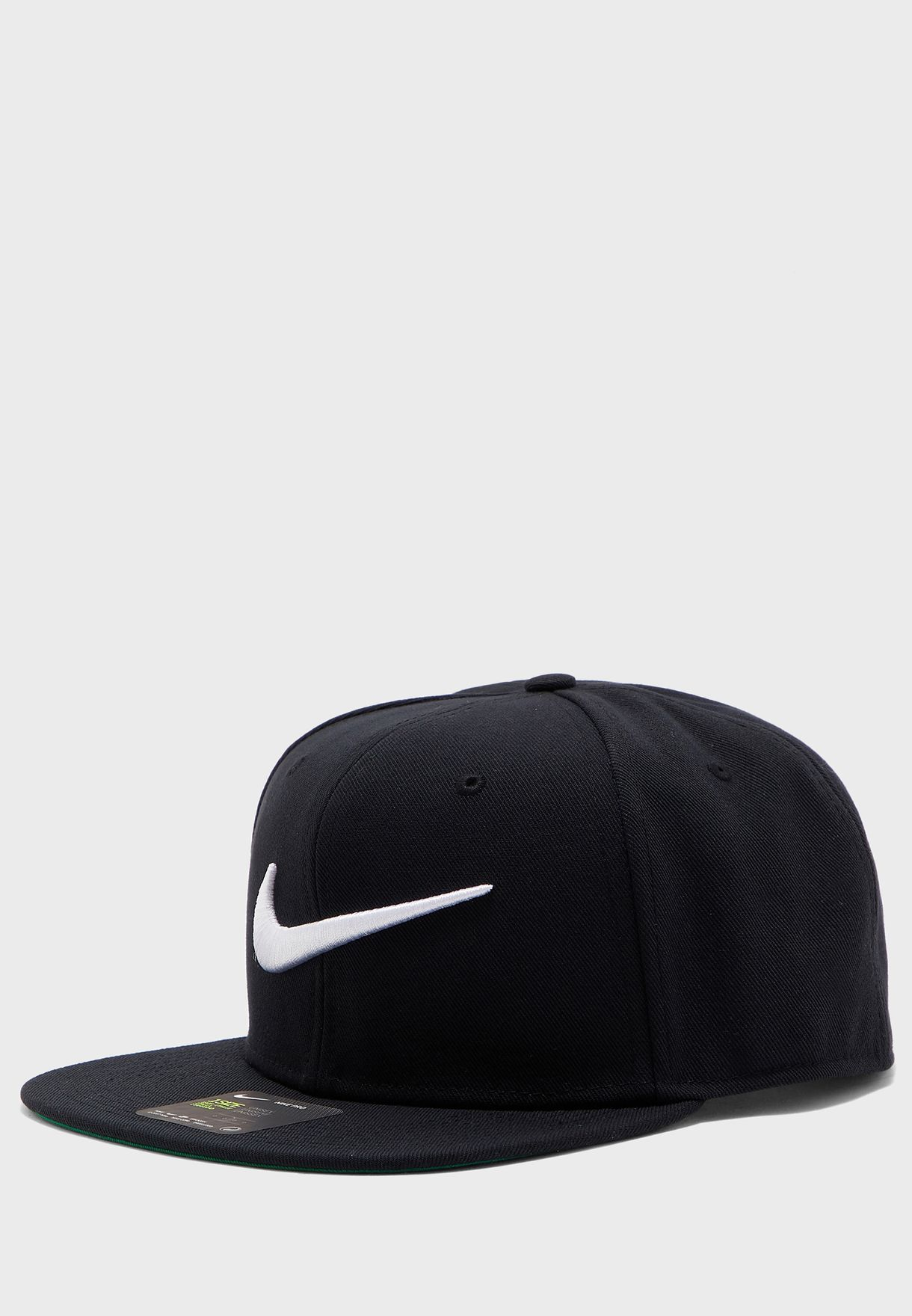 Shop Nike black Swoosh Pro Cap 639534-011 for Men in Bahrain - NI727AC22XFT 83472971fa9