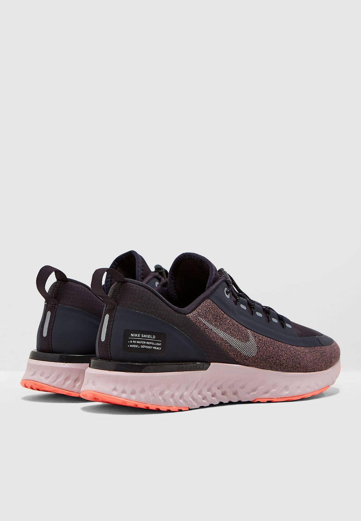 7fffde4642a83 Shop Nike black Odyssey React Shield AA1635-002 for Women in UAE ...