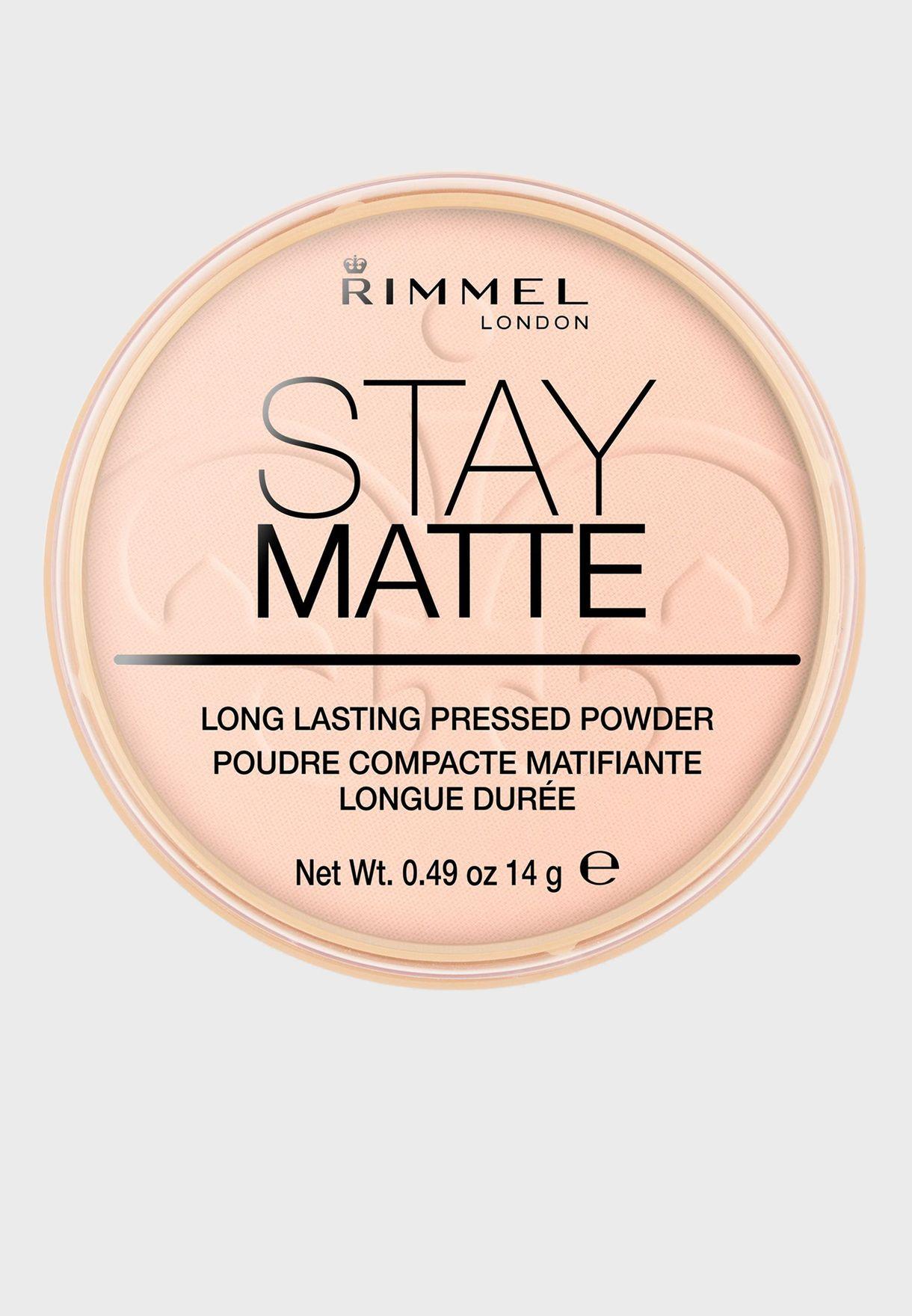 Stay Matte Pressed Powder- 002 Pink Blossom