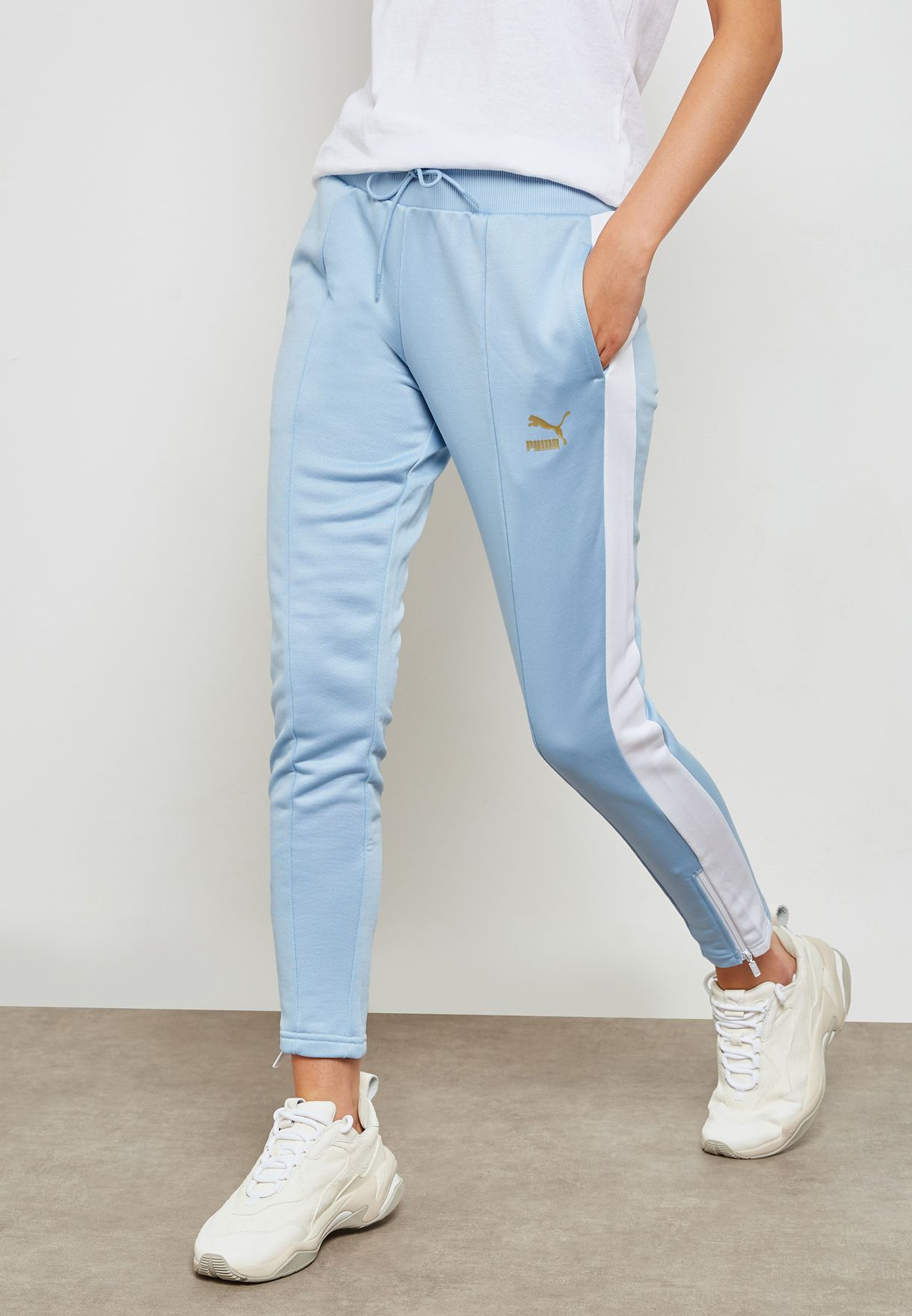 665dee37c4cf Shop PUMA blue Retro Track Pant 57651432 for Women in Saudi ...
