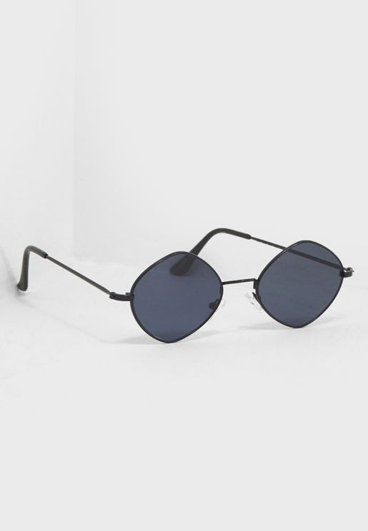 Eloecia Oval Sunglasses