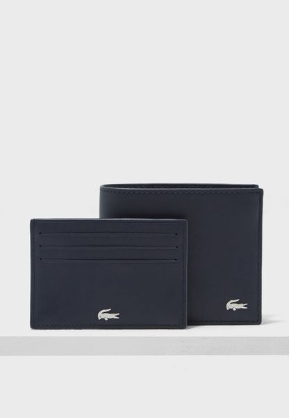 Leather Bifold Pocket Wallet