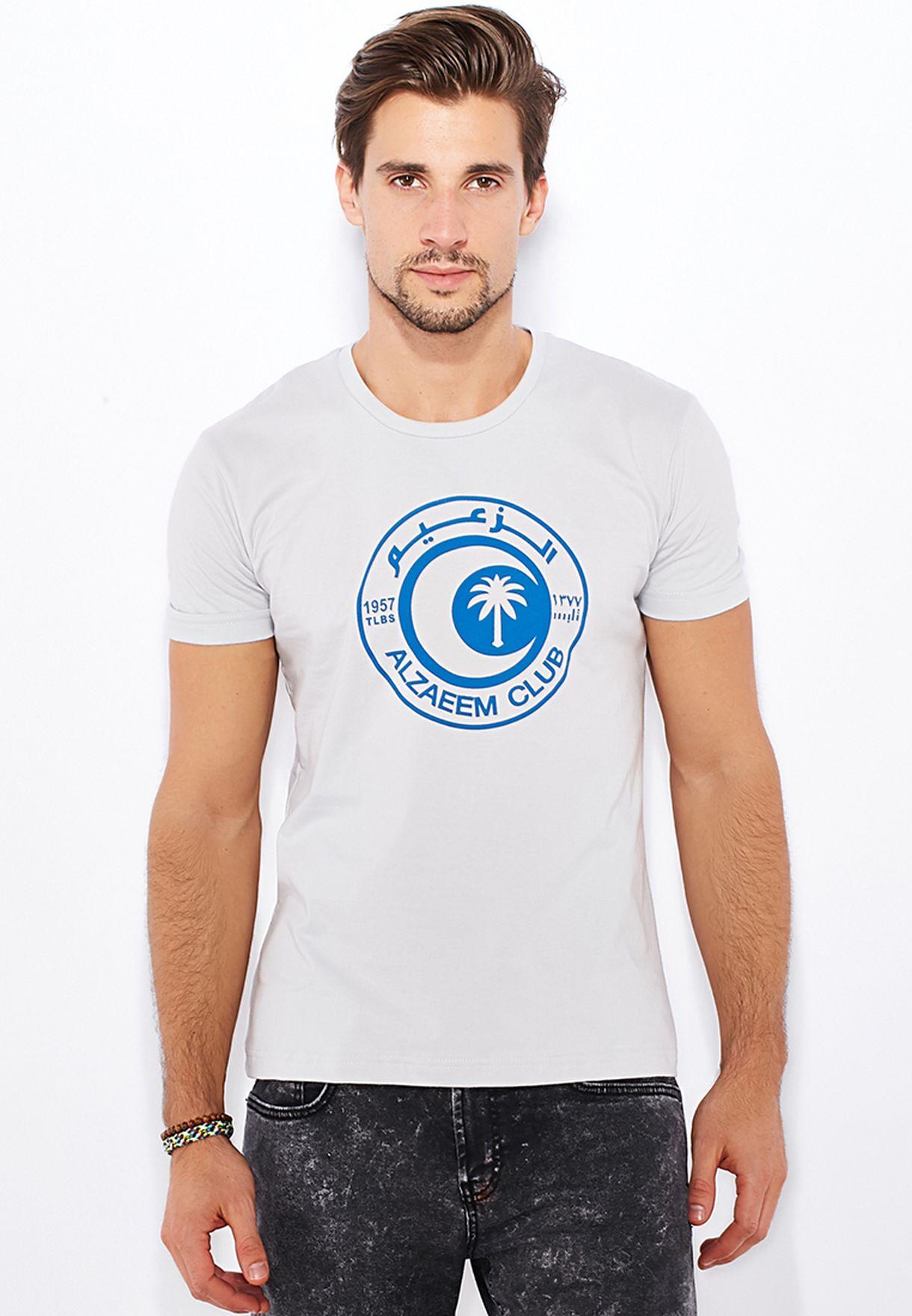 a6c7deb51 Shop Tlbs grey Al Zaeem T-Shirt for Men in Qatar - TL863AT22ETX