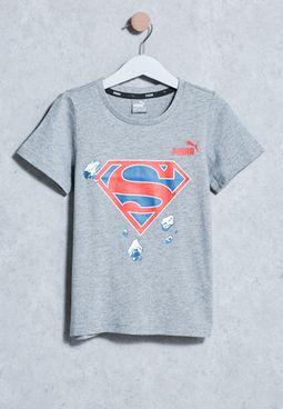 Kids Style Superman T-Shirt