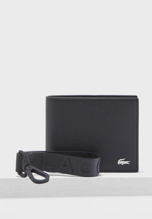 Leather Wallet + Keyring