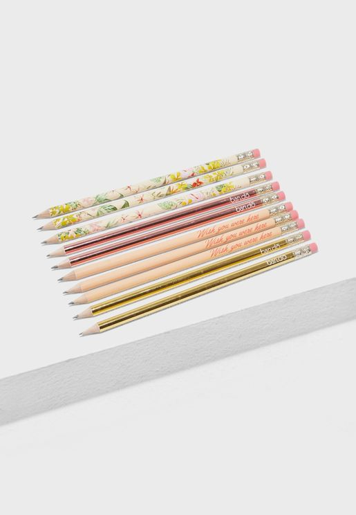 Paradiso Pencil Set