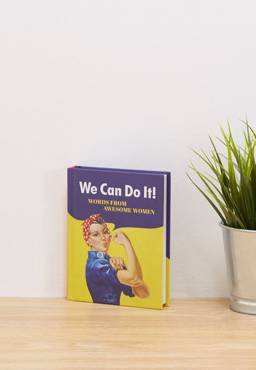 "كتاب ""We Can do it"" (نحن نستطيع)"