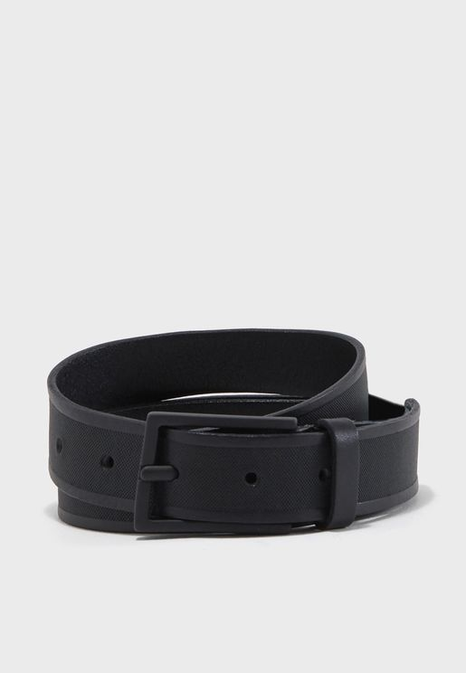 Shdmarco Structure Leather Belt