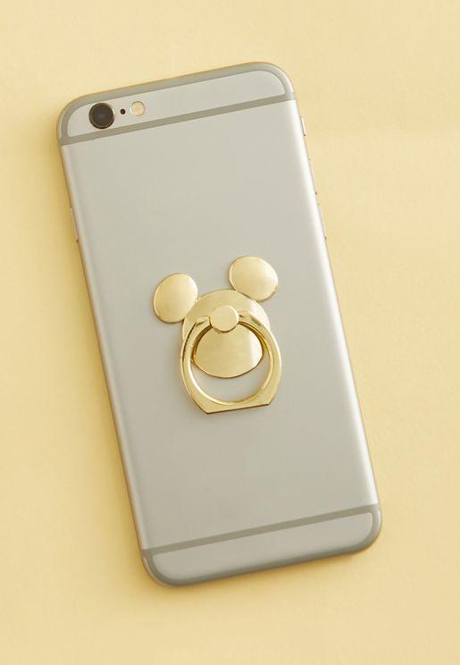 Mickey Head Phone Ring