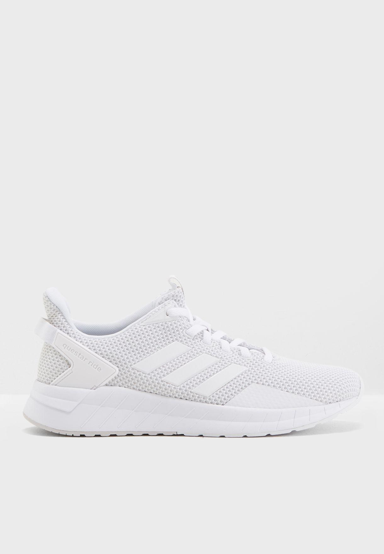 Buy adidas white Questar Ride for Women