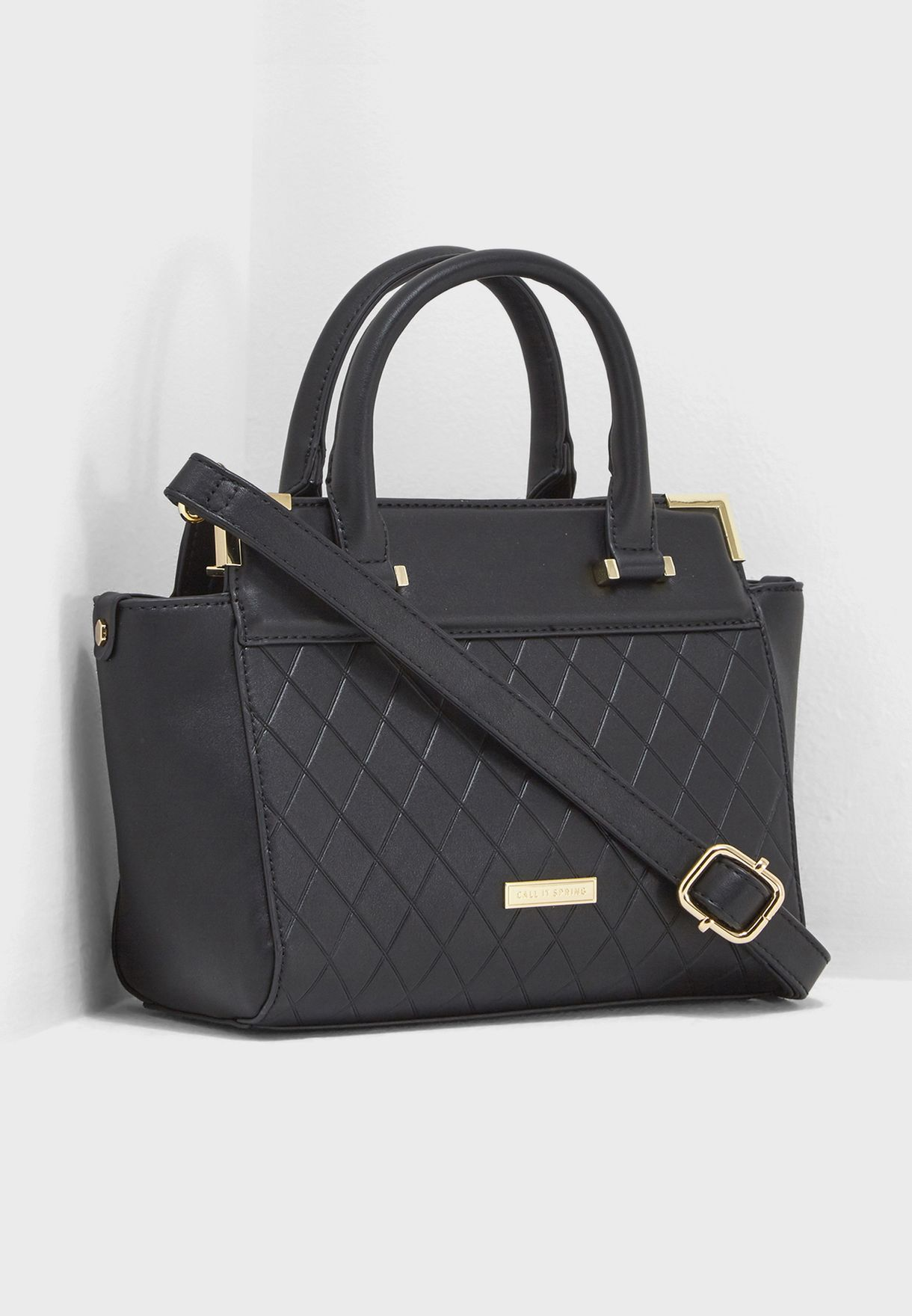 Shop Call It Spring black Glaedith Satchel GLAEDITH001 for Women in ... de2c76471c61a