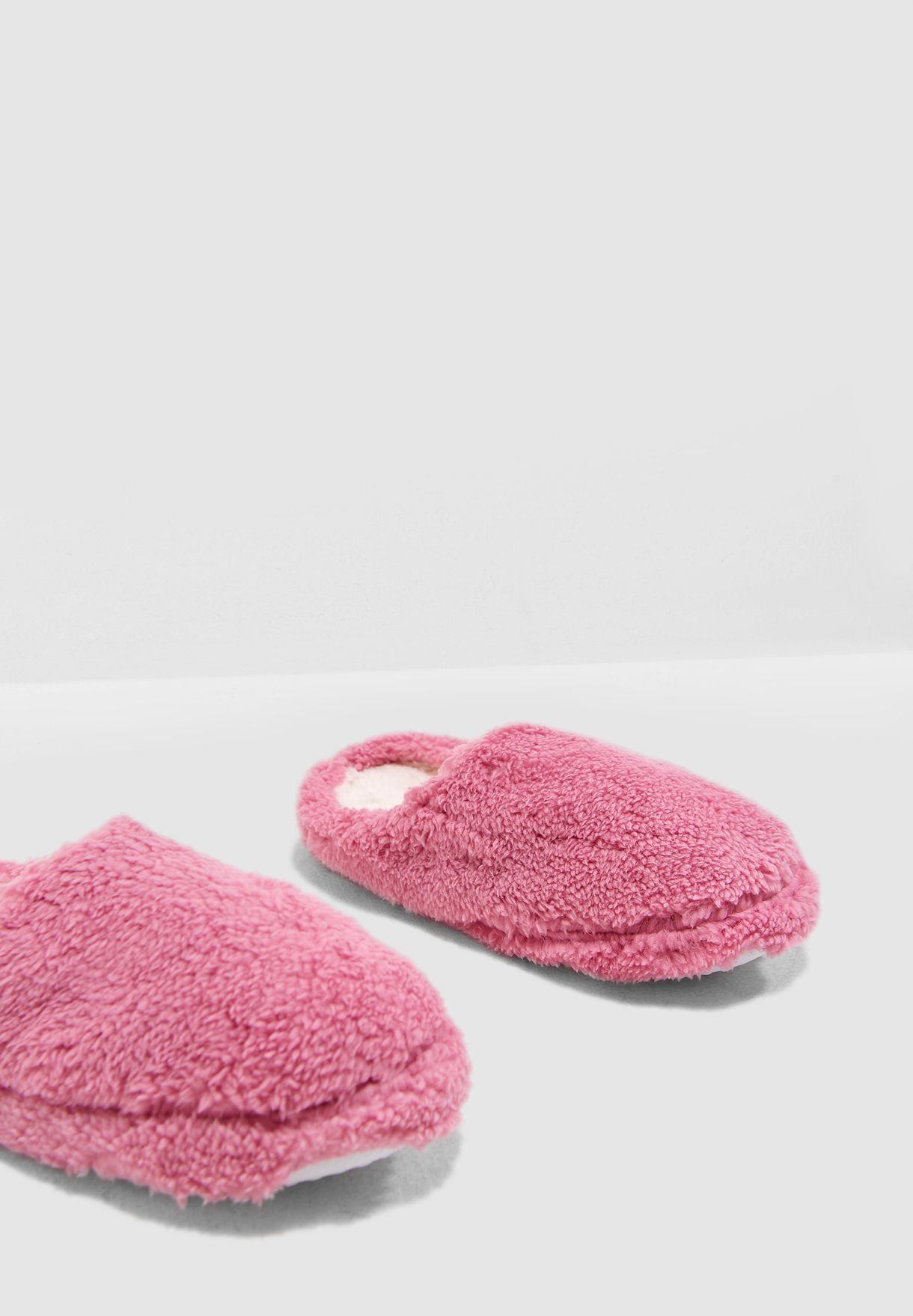 Fleece bedroom Slipper