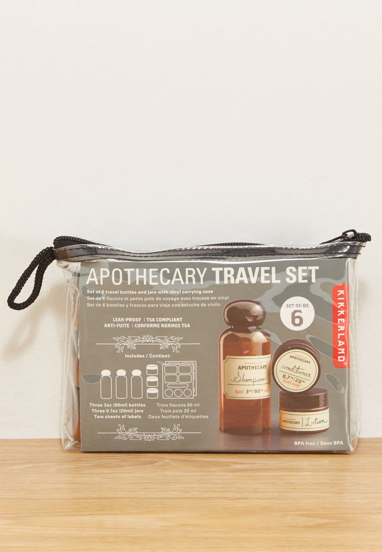 e6e0c6533e9e Apothecary Travel Set