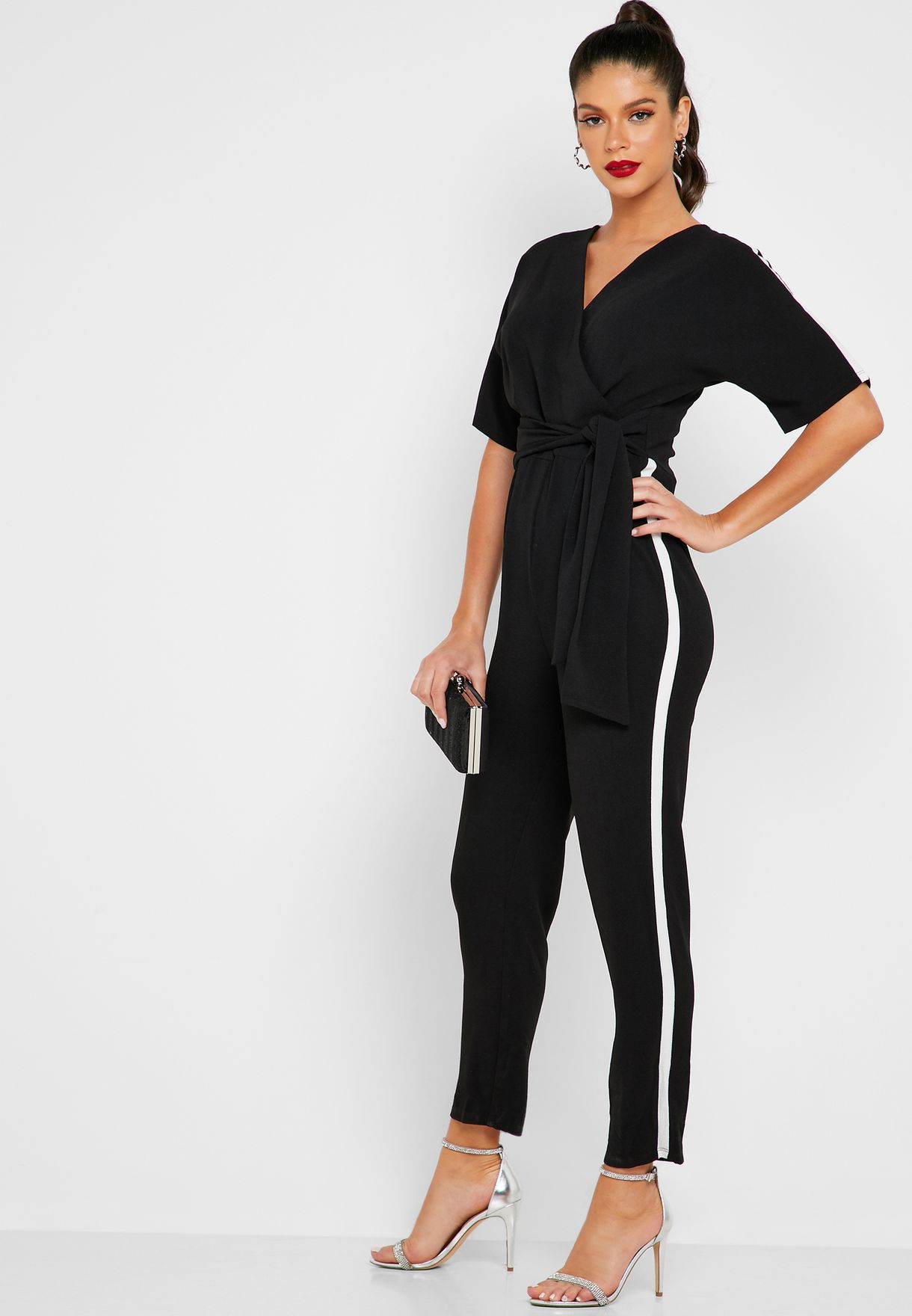 Side Stripe Jumpsuit
