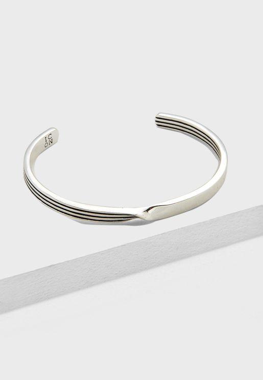 Pinstripe Detail Cuff