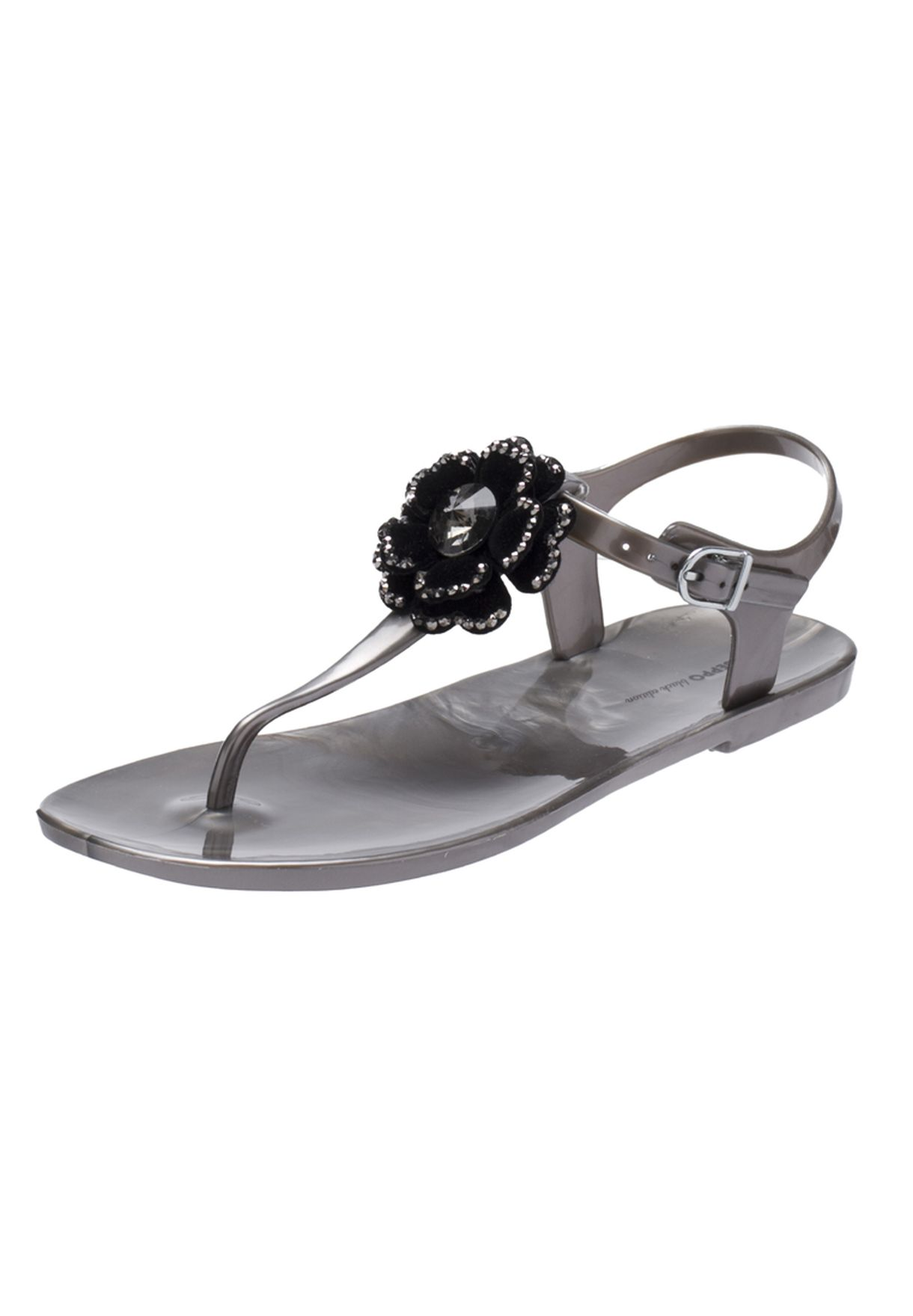 8df7c9b07a26bf Shop Gioseppo silver Paola Flat Sandals for Women in UAE - GI056SH22QWN