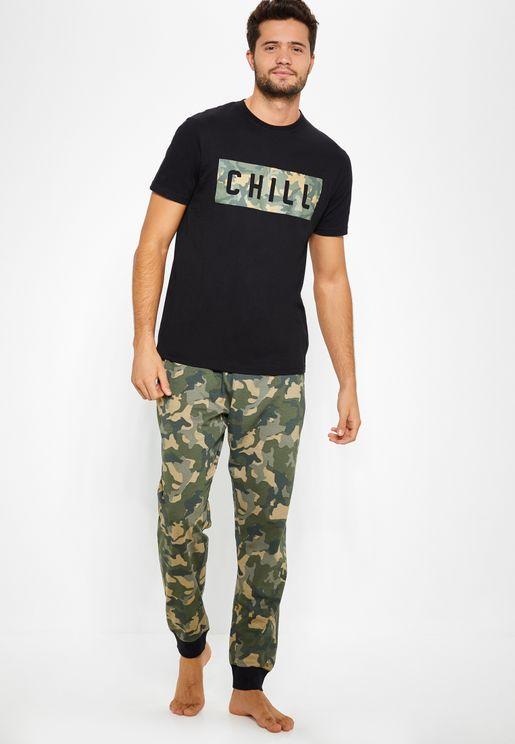 Camo Chill Pyjama Set