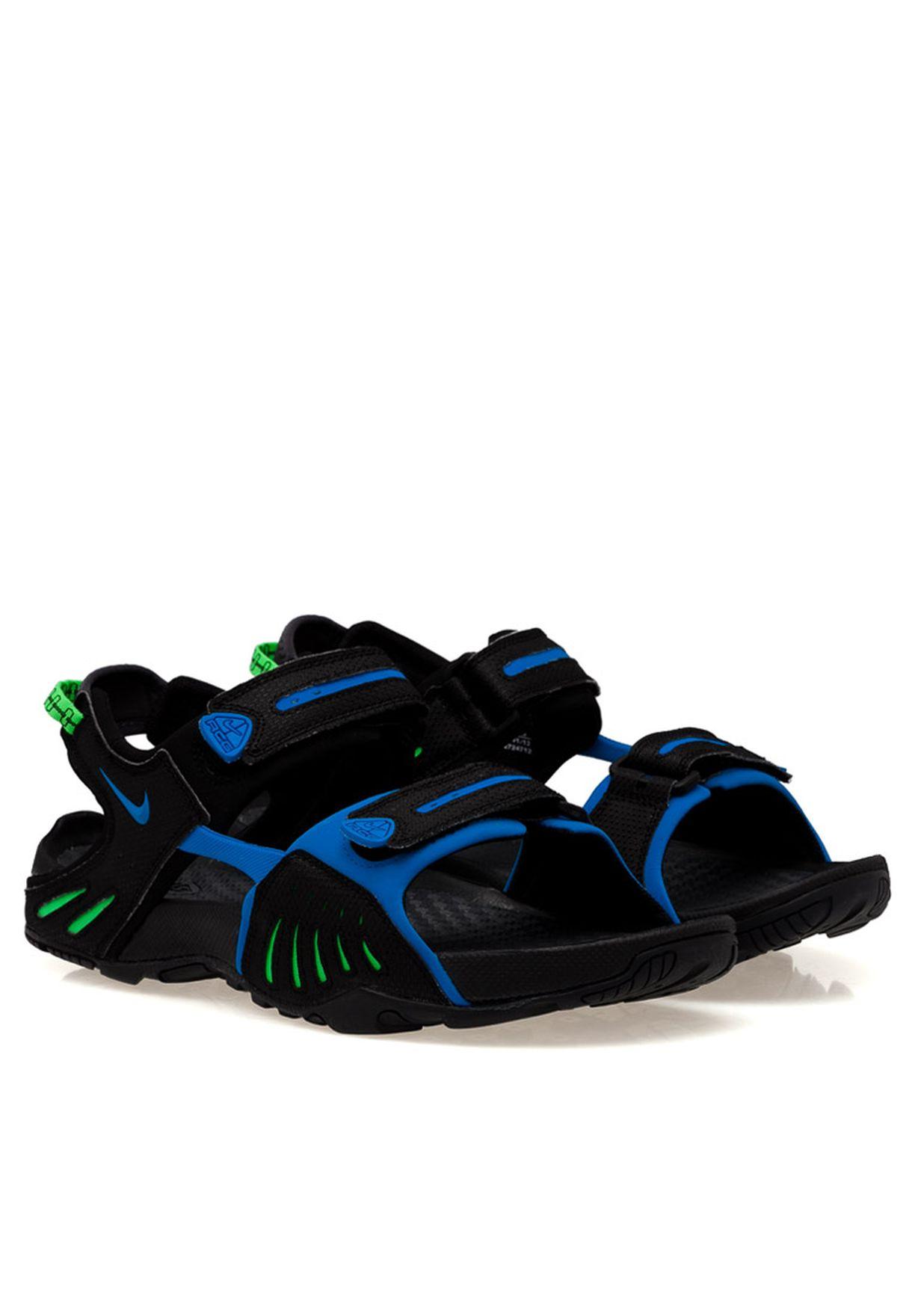 c580ed3d7f6e Shop Nike black Santiam 4 Sandal 312839-043 for Men in UAE ...