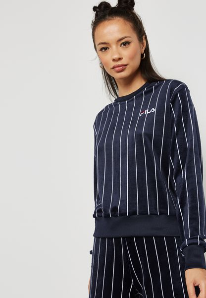 Parker Striped Sweatshirt