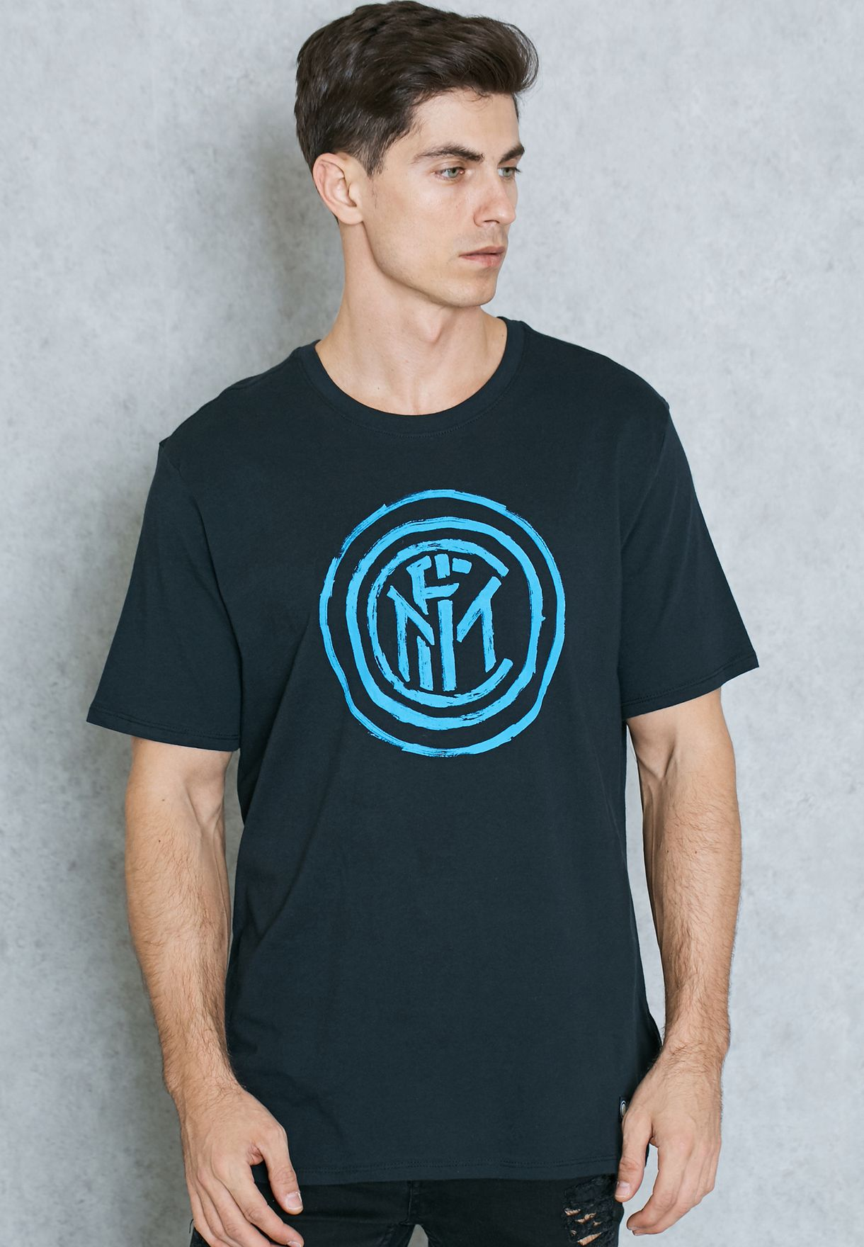 Men In Milan T Shop 805743 Uae Nike Inter Shirt Crest 011 For Black tqtfwvxP