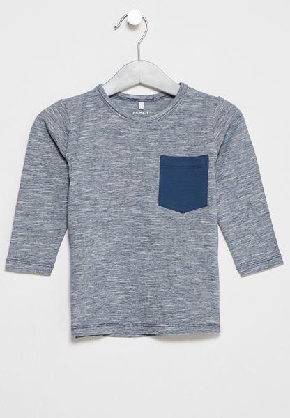 Infant Fenke Chest Pocket T-Shirt