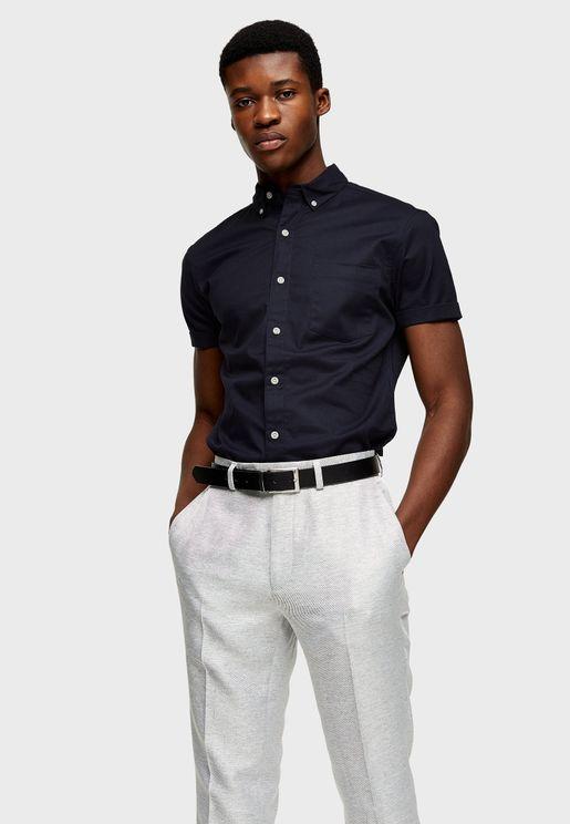 قميص كاجوال لابراز العضلات