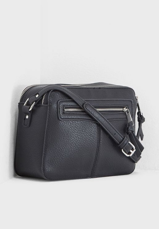 Zip Front Camera Crossbody
