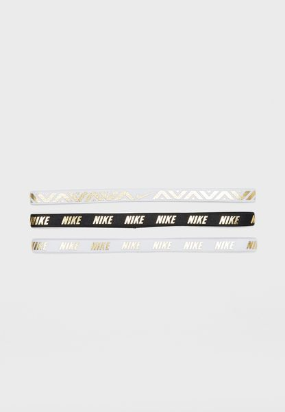 Shop Nike multicolor 3 Pack Metallic Hairbands NJNG891-2OS for Women in  Kuwait - NI727AC12EIH