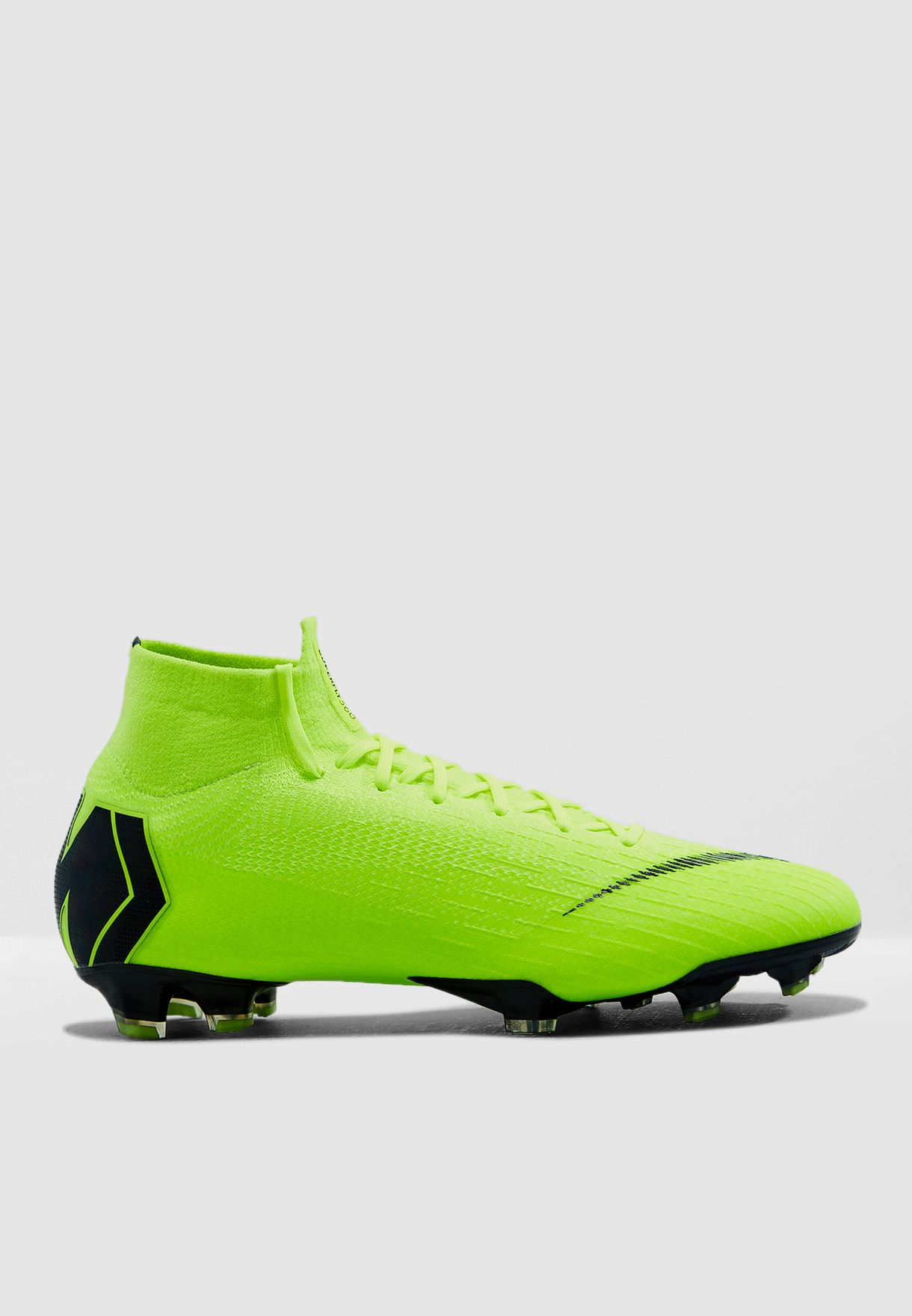 34483950567 Shop Nike green Mercurial Superfly 6 Elite FG AH7365-701 for Men in ...