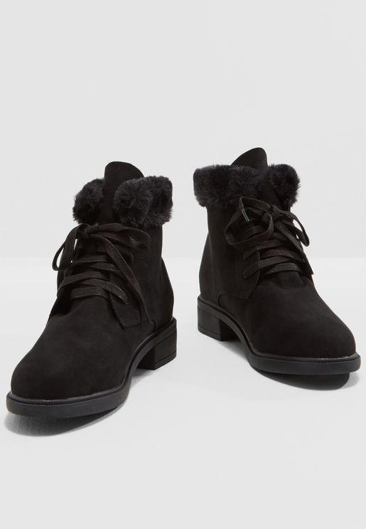 Millie Faux Fur Boot