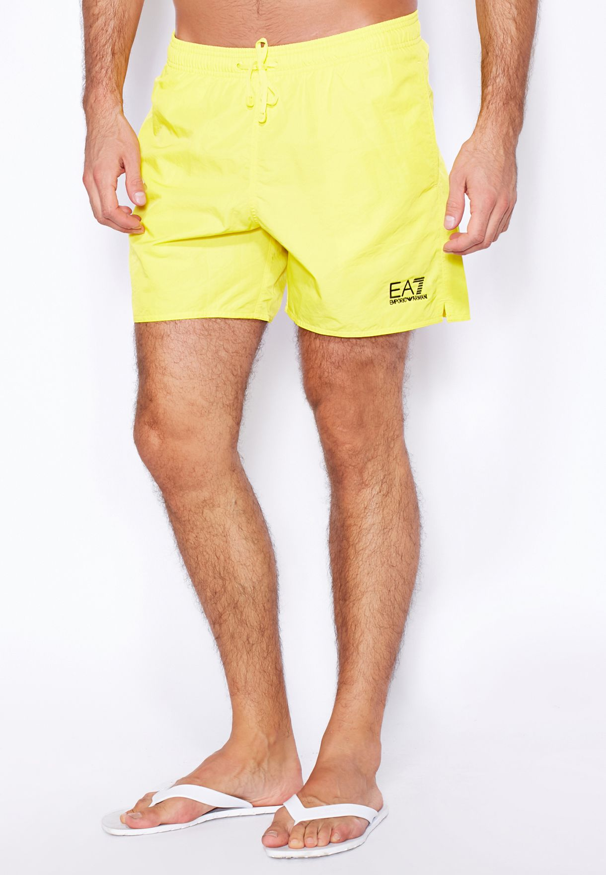 6f342933b93be Shop Ea7 Emporio Armani yellow Sea World Boxers 902000 for Men in ...